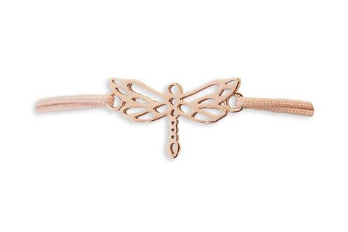 LIBELLEN Armband * rosé / Bandfarbe: nude