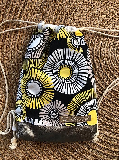 Rucksackbeutel 'African Sun' - Einzelstück