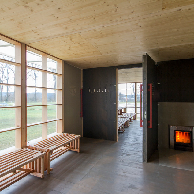 Sauna a altán Kijukiju, Biotop Radotín