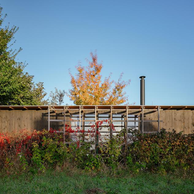 Kijukiju sauna s odpočívárnou, Buchlovic