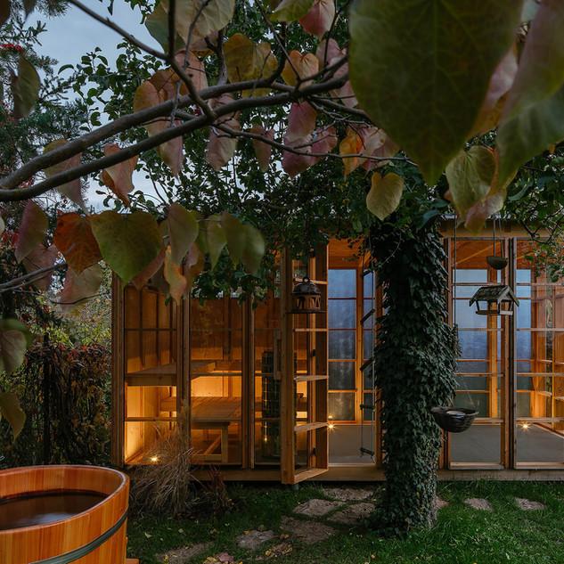 Kijukiju sauna s odpočívárnou, Černošice