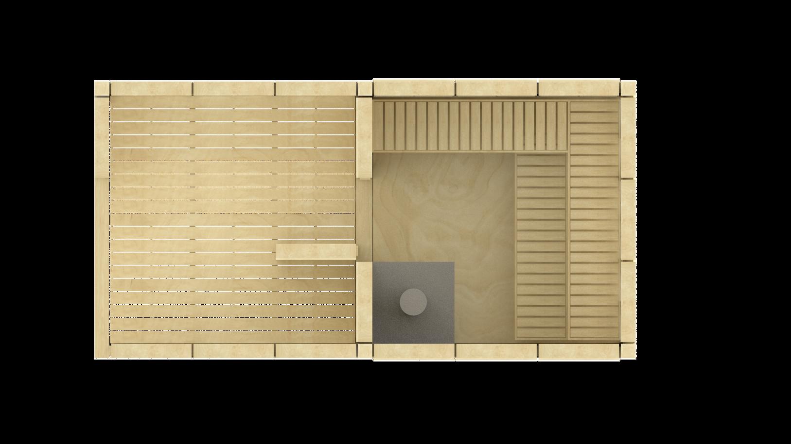 Sauna VÍTR s odpočívárnou