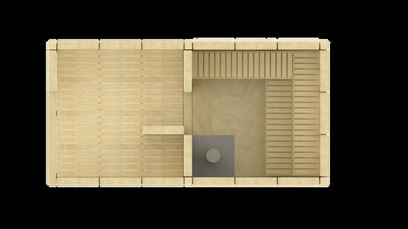 Altán VÍTR se saunou