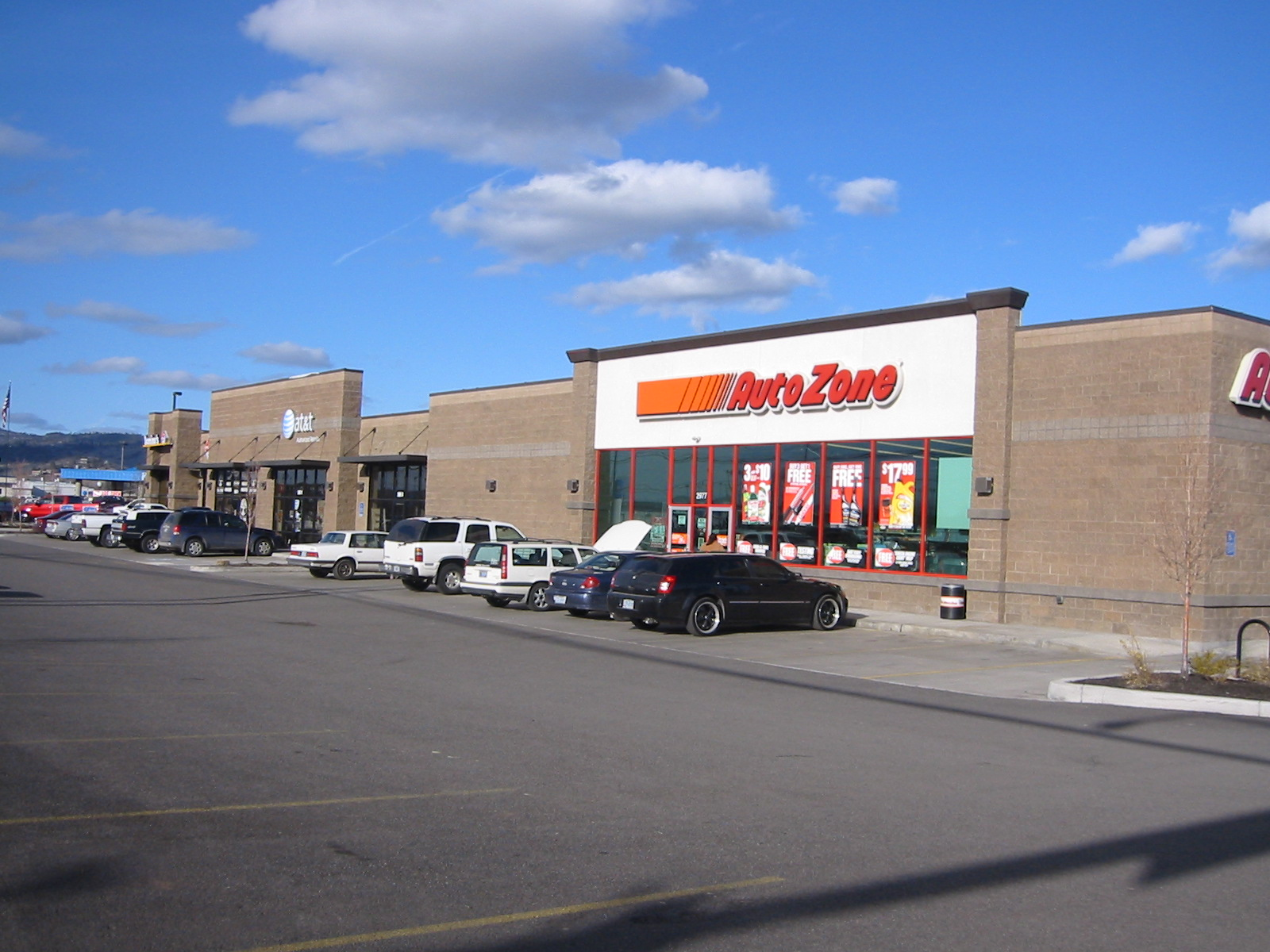 AutoZone Strip Center