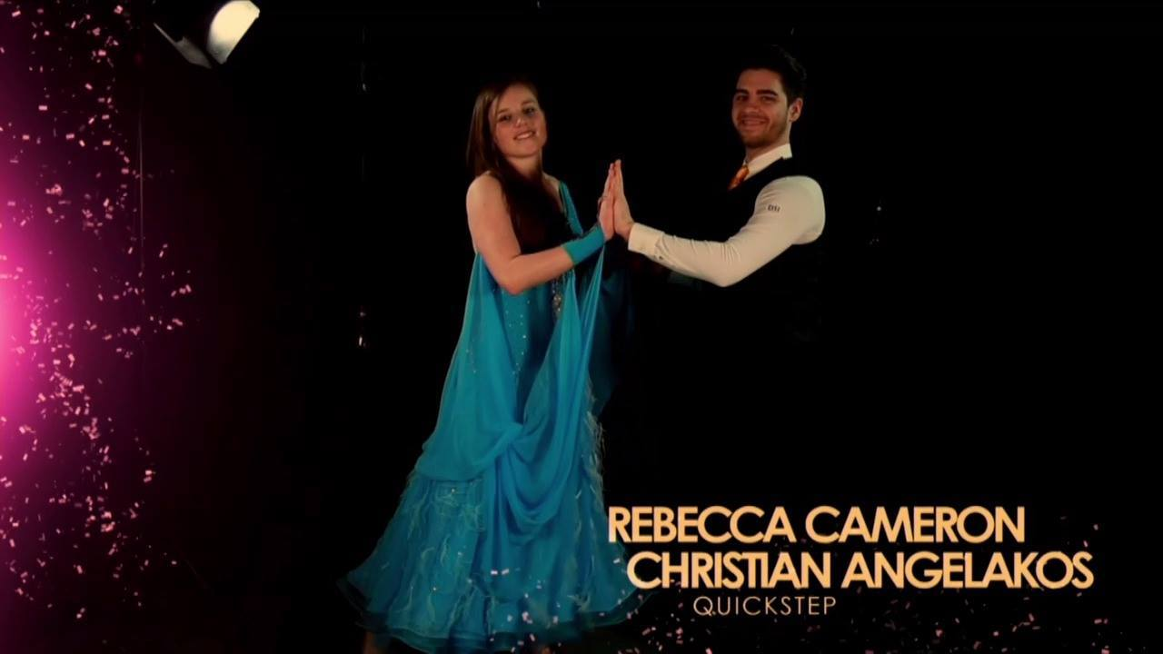 Strictly Come Surrey 2017 - Rebecca & Christian