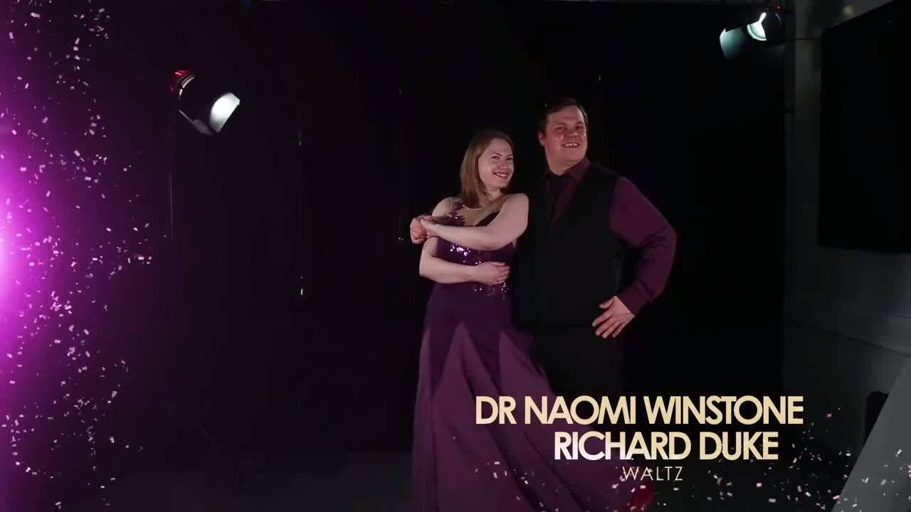 Strictly Come Surrey 2017 Naomi & Richard