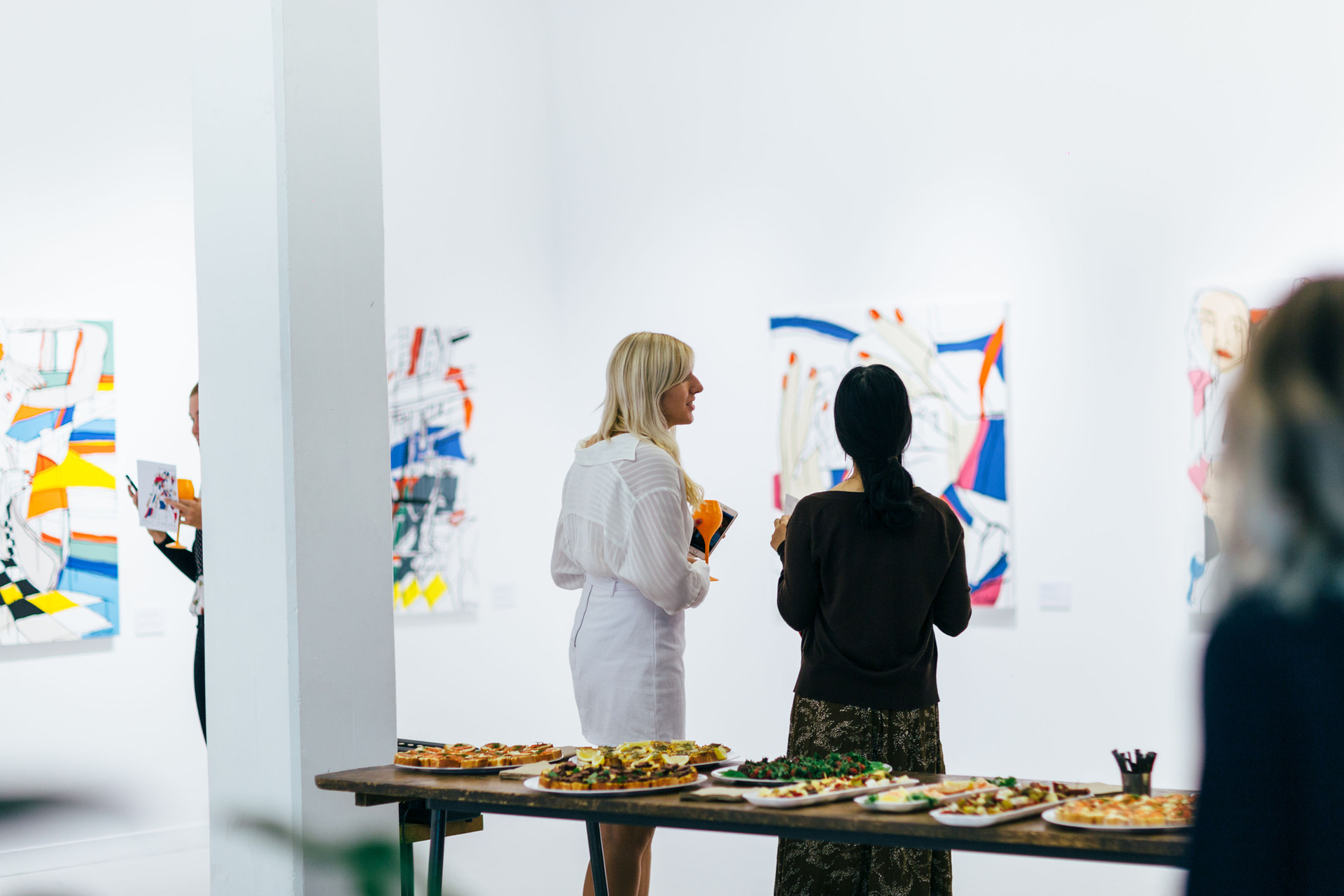 Merging Faces Exhibition, Allpress Studio, 2019