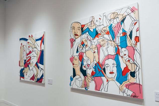 Merging Faces Exhibition