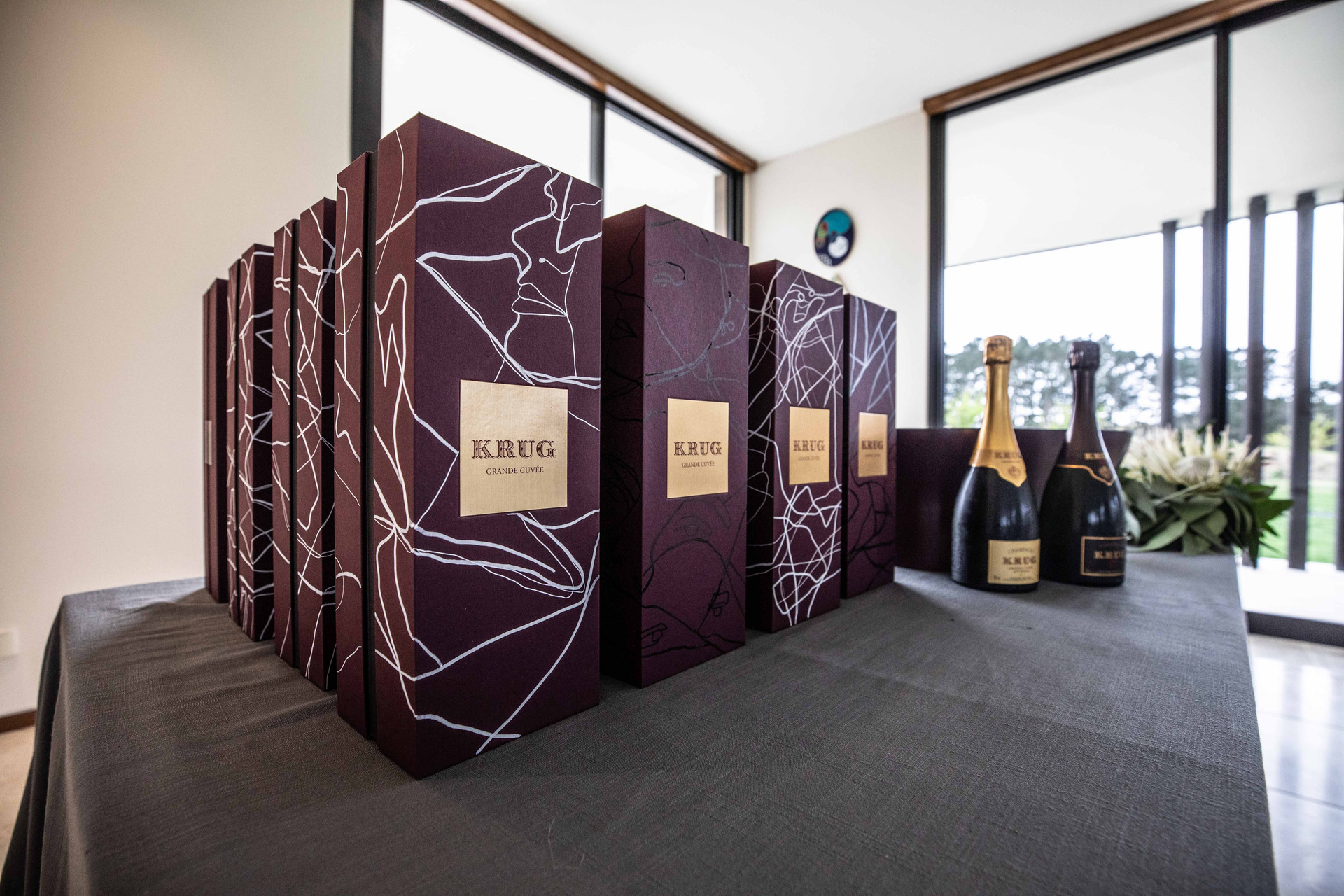 Customising Krug Champagne with BMW