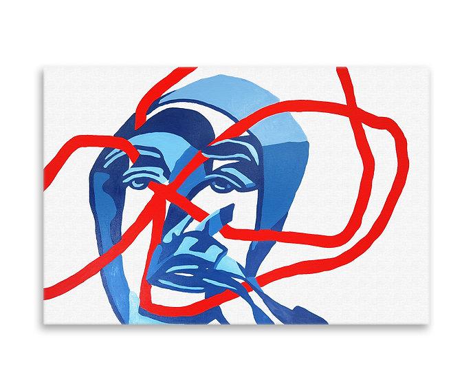 Thinking II Original Artwork Holly Schroder