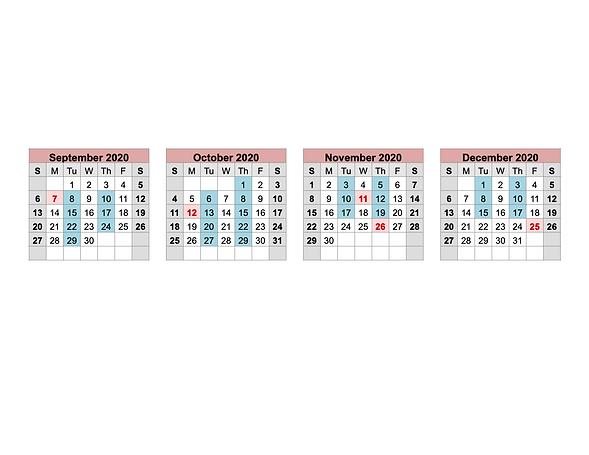 eduCollective 2020-21 Acedmic Calendar P