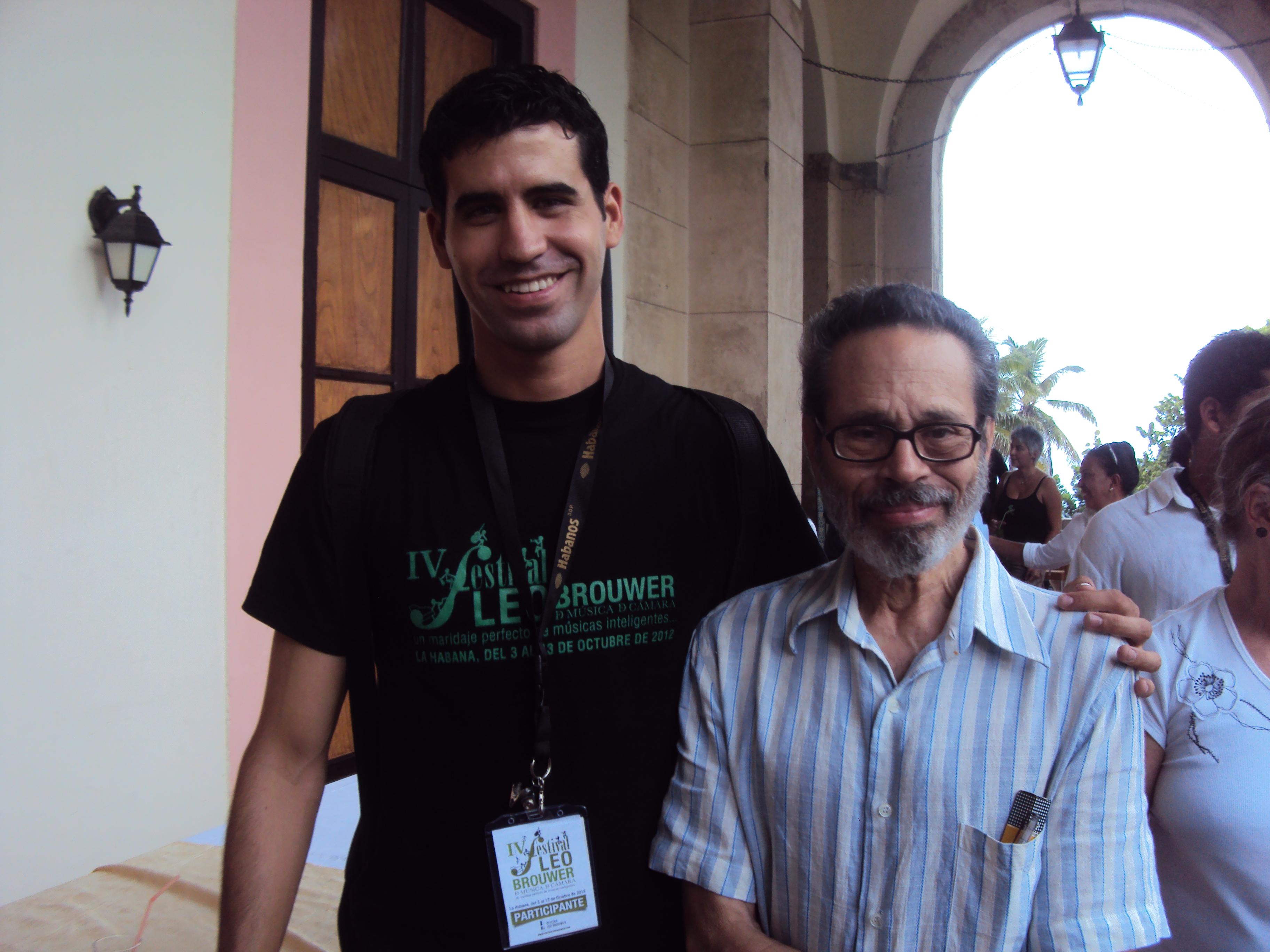 Joe Ott y Leo Brouwer