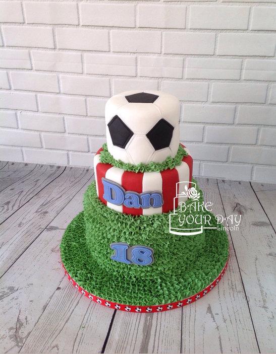 Football Fan Cake