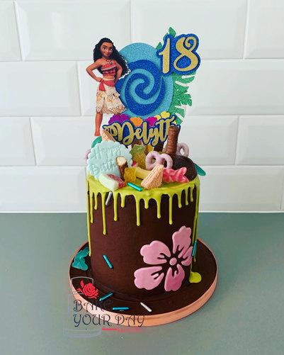 Moana Drip Cake.jpeg