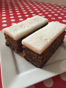 Traditional Fruitcake Bars