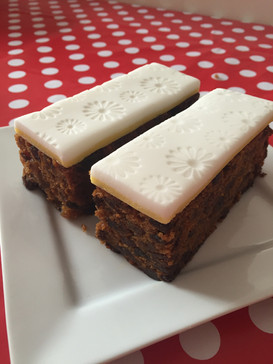 Traditional Fruitcake Bars