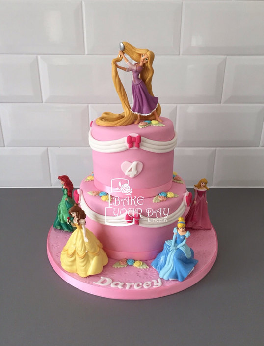 Princess Toy Cake