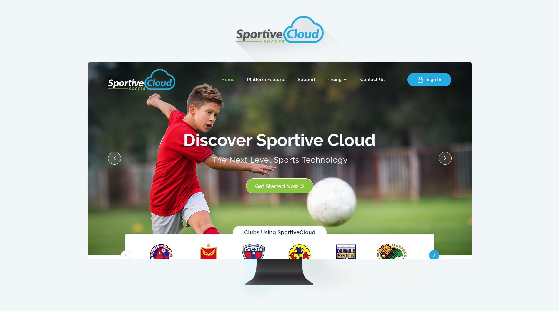 Sportive Cloud Soccer