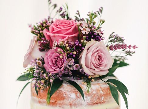 De bruidstaart: niet alleen ontzettend mooi, ook nog eens méga lekker