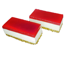 Strawberry Jelly Cheesecakes