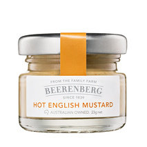 Hot English Mustard, Portions (60x23g)