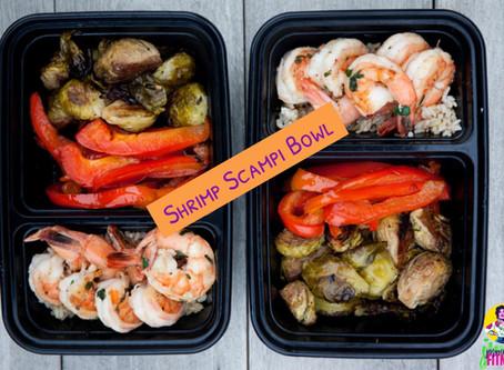 Shrimp Scampi Bowl (Meal Prep)