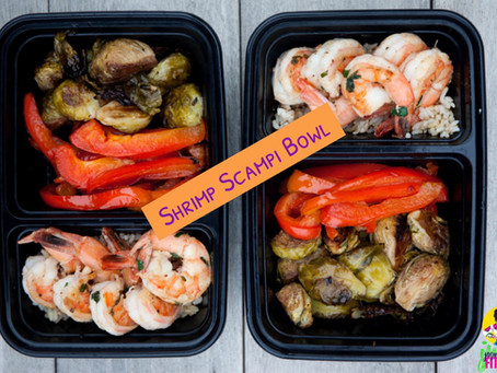 Shrimp Scampi Bowl (Meal Prep)