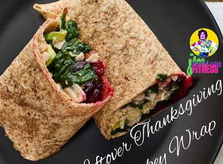 Leftover Thanksgiving Turkey Wrap