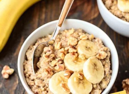 Banana Nut Slow-Cooker Oats