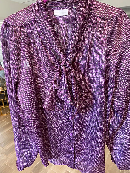 New York & Company Purple blouse