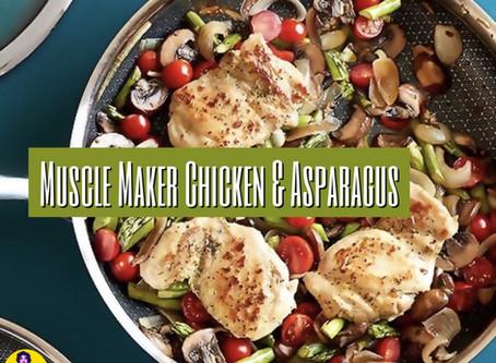 Muscle Maker Chicken & Asparagus
