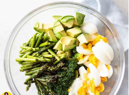 Asparagus, Avocado Egg Salad