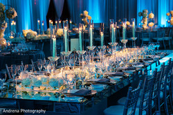 cande light dinner indian wedding