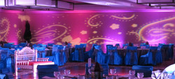 indian wedding stencil light