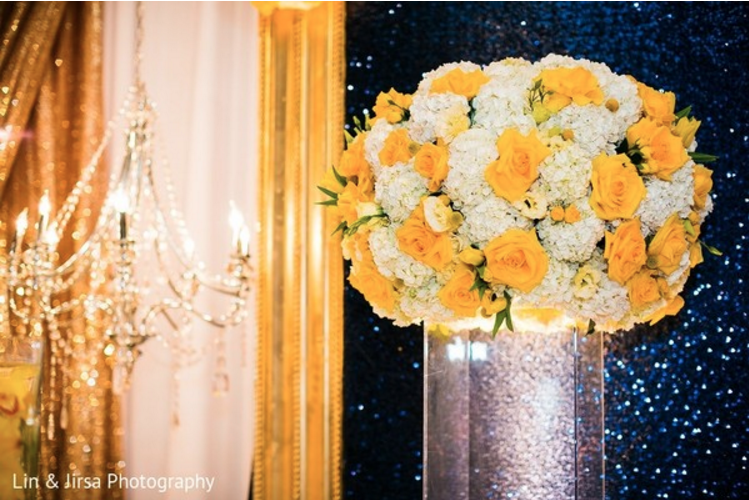 beautiful flower arrangement wedding