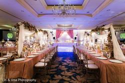 beautiful ballroom cream color