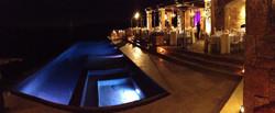 infinity pool wedding