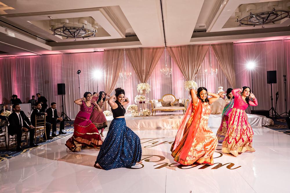 Sangeet Dances Preperation.