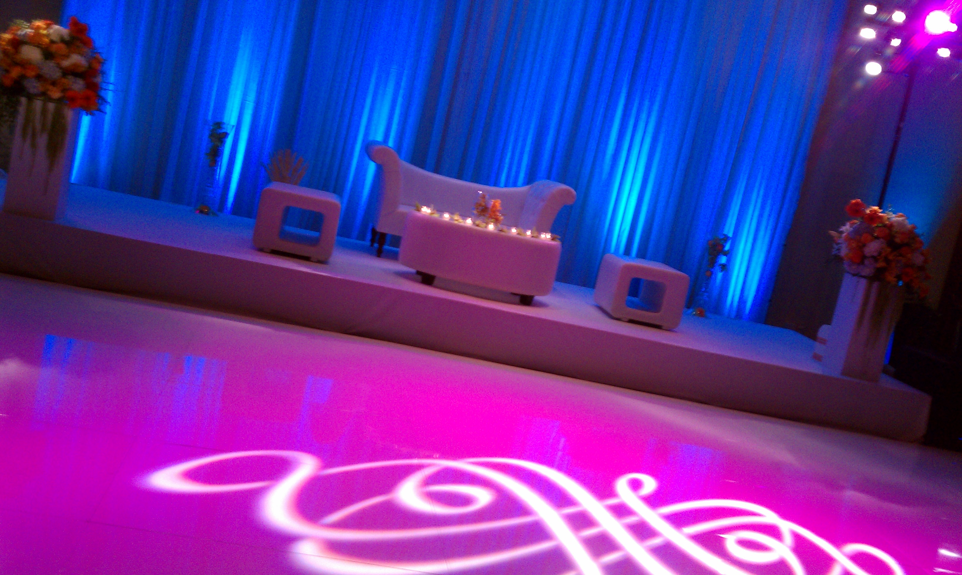 sangeet dance floor