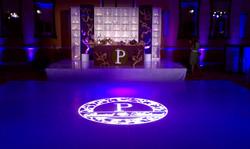 wedding reception seating dance floo