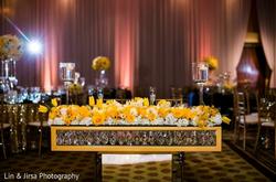 family seating indian wedding