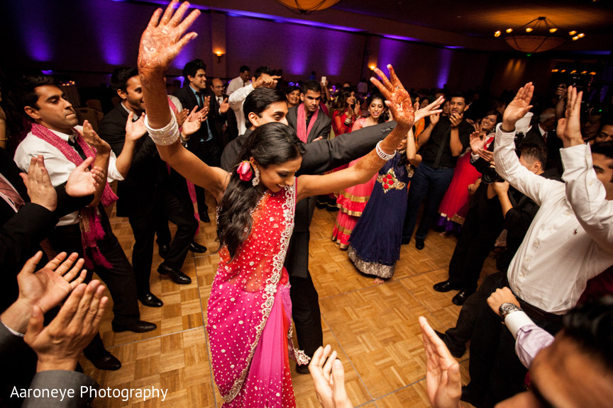 indian wedding dance floor