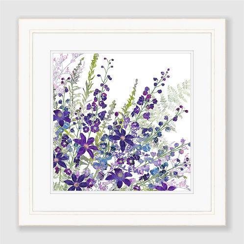 Cluster of Purples Print