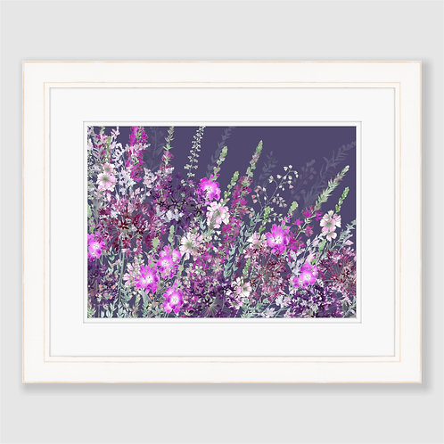Pink Riot at Nightfall Print