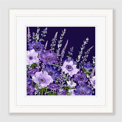 The Evening Anemone Patch Print