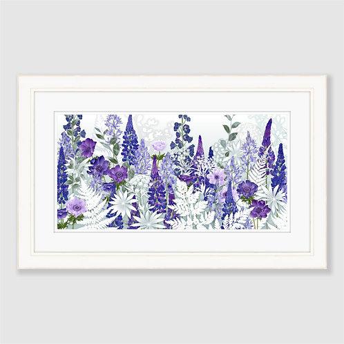 Daydream in Blue (Landscape) Print