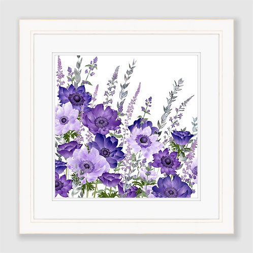 The Morning Anemone Patch Print