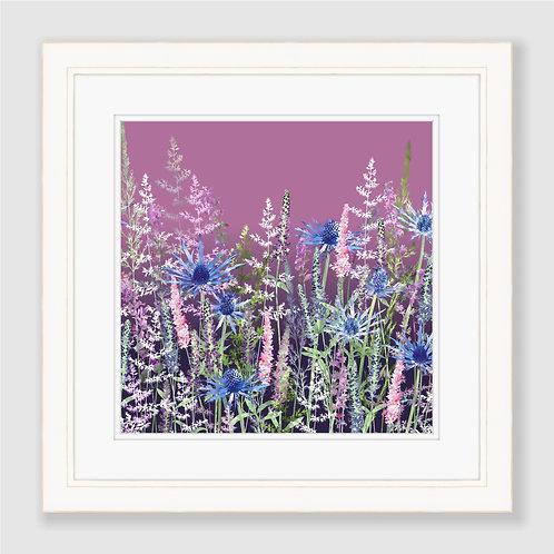 Fairytale Sunset Meadow Print