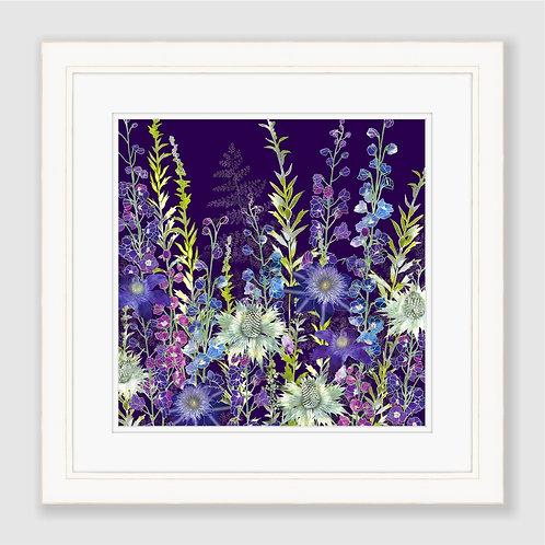 Purple Garden Print