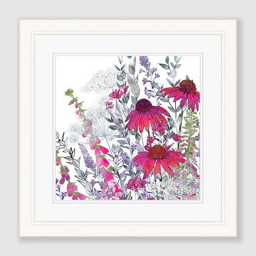 Pink Paradise (Square) Print